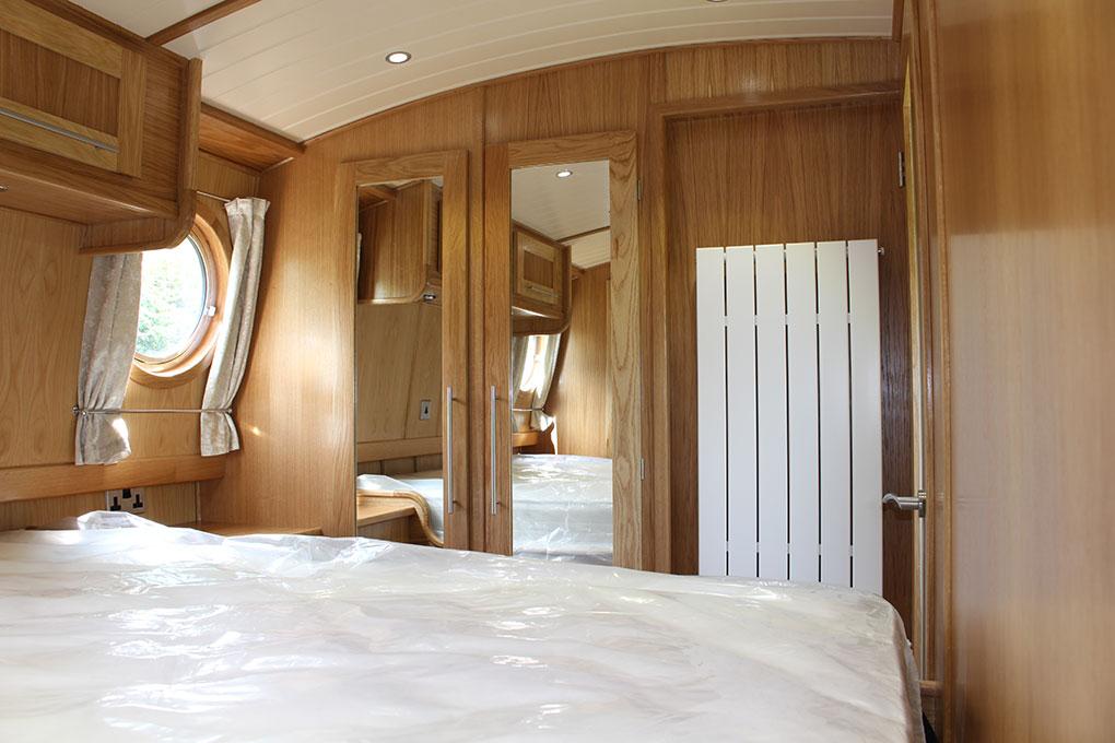 Signature Range Widebeam Boat Builder - Bespoke Designed Bedroom 6