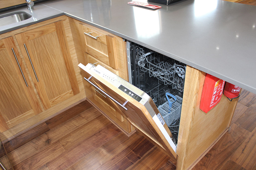 Integrated Dishwasher - Widebeam Canal Boat