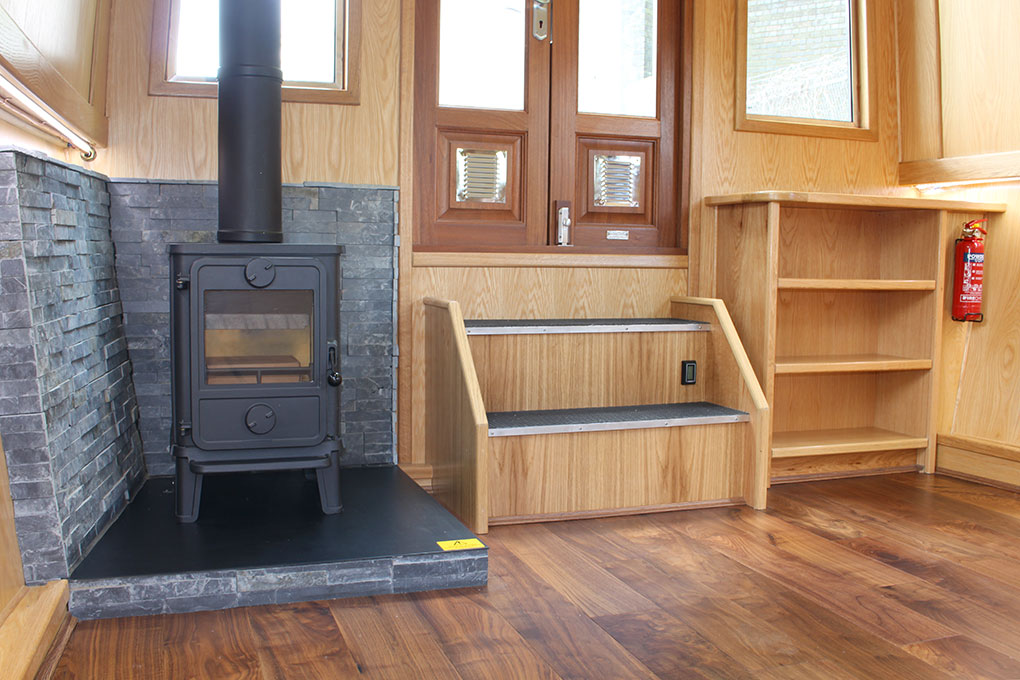 Multi Fuel Stove - Widebeam Canal Boat