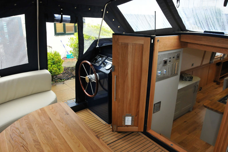 Do It Yourself Home Design: Abode 12ft Widebeam Boat Built By Leading Widebeam Boat