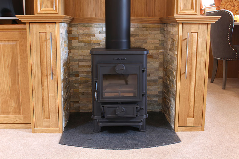 Canterbury Widebeam Multi Fuel Stove
