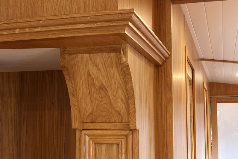 Canterbury Widebeam - Woodwork Detail