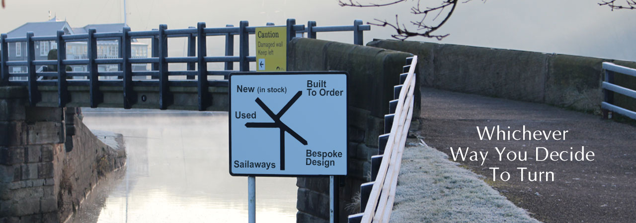 New & Used Boat Co Signpost 2