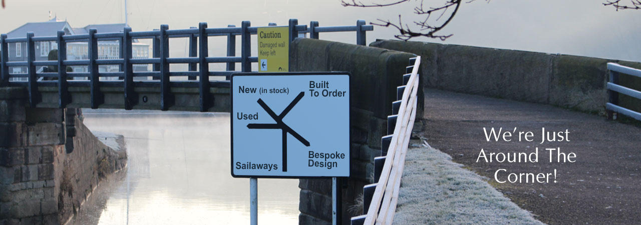 New & Used Boat Co Signpost