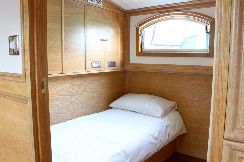 Neptune Barge Second Bedroom