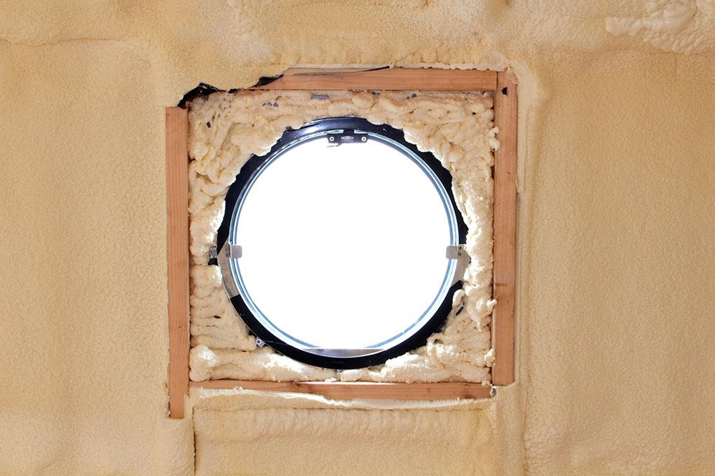 Building a Widebeam - Portholes