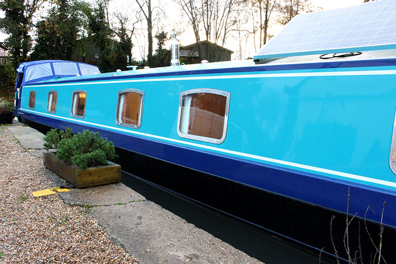 Canterbury Widebeam - External Paint