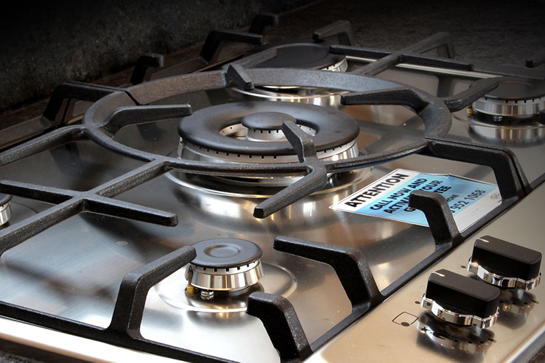 Luxury Widebeam - Canterbury Gas Hob