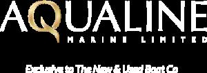 aqualine logo white